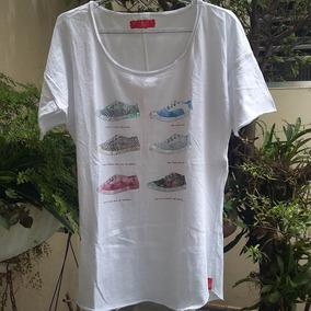 030390fbcc Blusa Branca Com Paetês Cantão M - Blusas Feminino no Mercado Livre ...