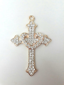 Cruz Crucifixo Para Terço De Noiva, Dourado, Modelo A Escolh