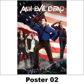 Poster/adesivo Série 30x40 Ash Vs. Evil Dead (02)