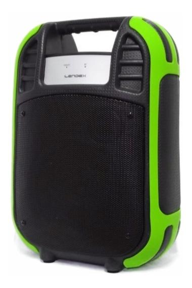 Caixa Som Portátil Bluetooth Amplificada Usb Sd Cartão Alça