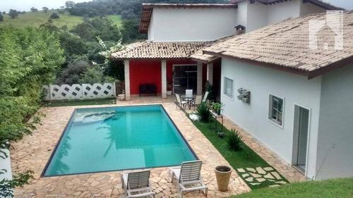Chácara Com 3 Dormitórios À Venda, 1000 M² Por R$ 850.000,00 - Condomínio Village Morro Alto - Itupeva/sp - Ch0001