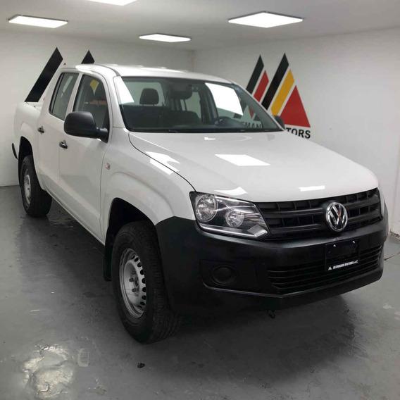 Volkswagen Amarok 2017 4p Entry L4/2.0/tdi Man 4x2
