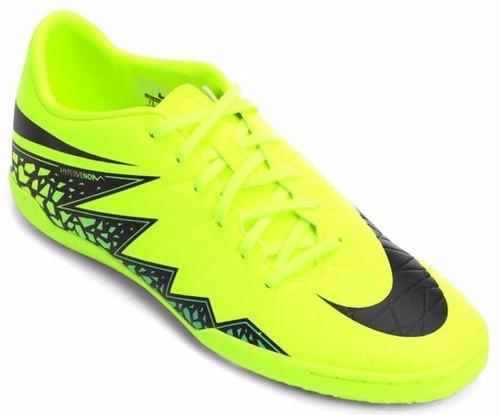 de8ad4093bb92 Chuteiras Da Nike Futsal Hypervenom Amarela E Preto - Esportes e ...