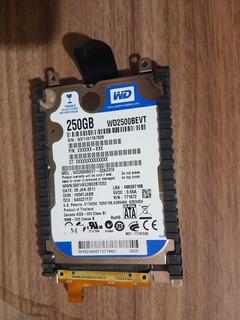 Disco Rigido Wd Blue 250gb Netbook Notebook Ps3 5400rpm