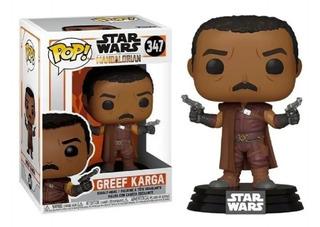 Funko Pop Star Wars 347 Greef Karga The Mandalorian Playking
