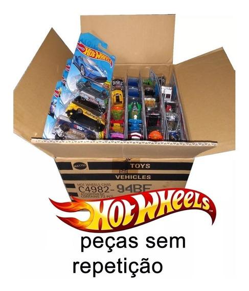 Caixa Hotwheels C/ 6 Carrinhos - Sem Duplicidade