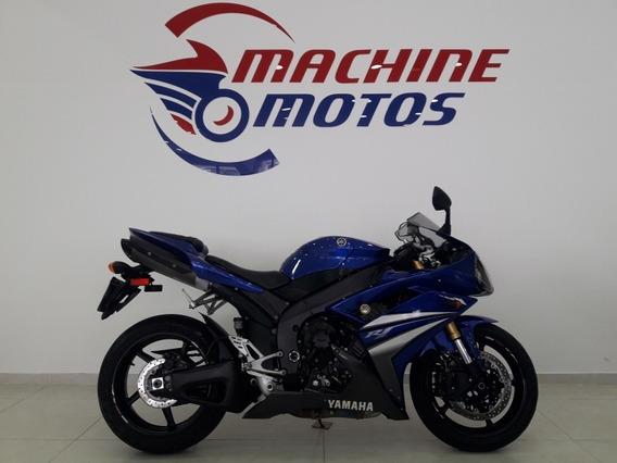 Yamaha Yzf R 1 2007 Azul Revisada C\garantia