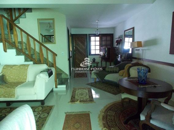 Casa De Condomínio Com 3 Dormitórios À Venda - Badu, Niterói/rj - Cal21803