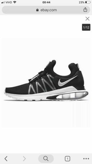 Nike Shox 41 Lançamento Preto E Branco....