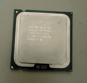 Processador Intel Core 2 Duo E7500 2.93 Ghz - Com Cooler Box