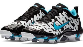Tachones Softbol Dama Nike Hyperdiamond 2.5 Black/blue Fury