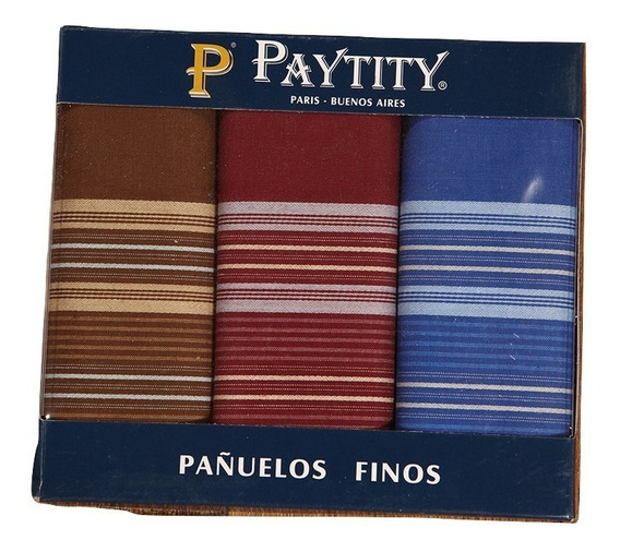 Pañuelos 100% ALG. Pack 3 Unidades