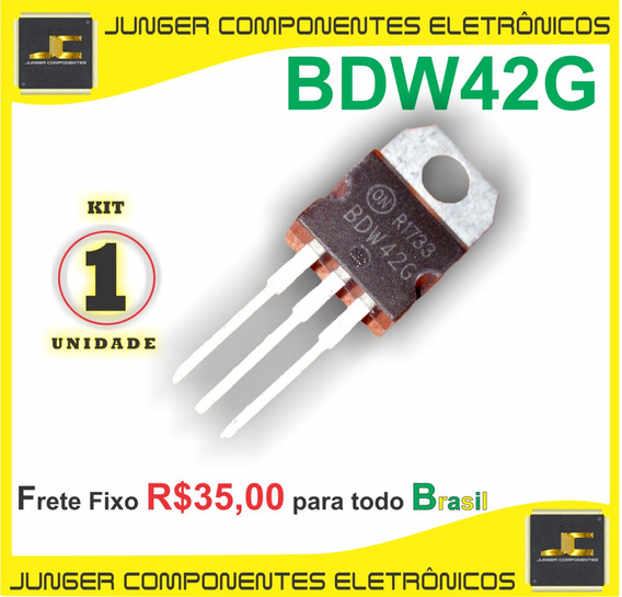 Bdw42g - Bdw42 - Npn-darlington+diode - Original