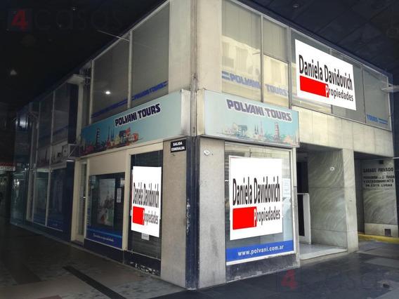 Local De 184 M2 En Tucumán Y Esmeralda - Amplias Vidrieras/doble Entrada/multiples Destinos.