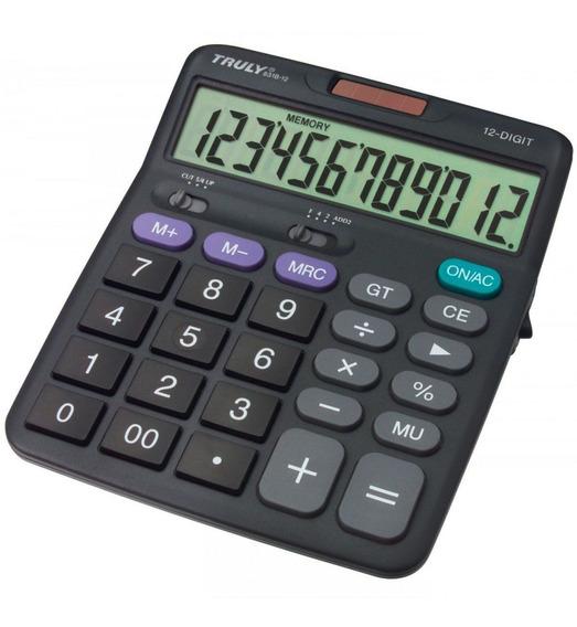 Calculadora 12 Dígitos 831b12 Truly