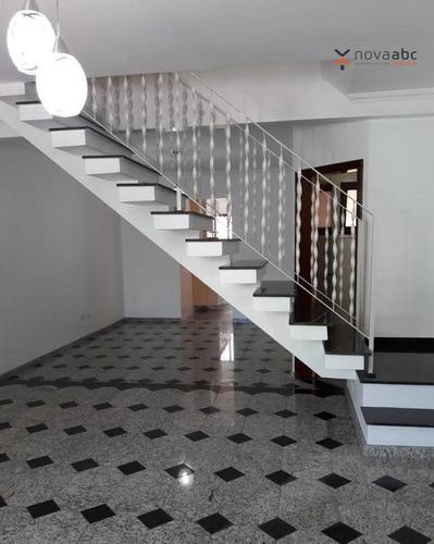 Sobrado Com 3 Dormitórios À Venda, 198 M² Por R$ 890.000 - Vila Marina - Santo André/sp - So0383