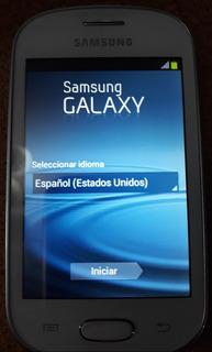Samsung Galaxy Fame Lite Pearl White Gt-s6790l 100% Operati