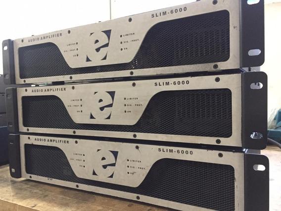 Amplificador De Potencia Etelj Slim 6000 Nao Studior Machine