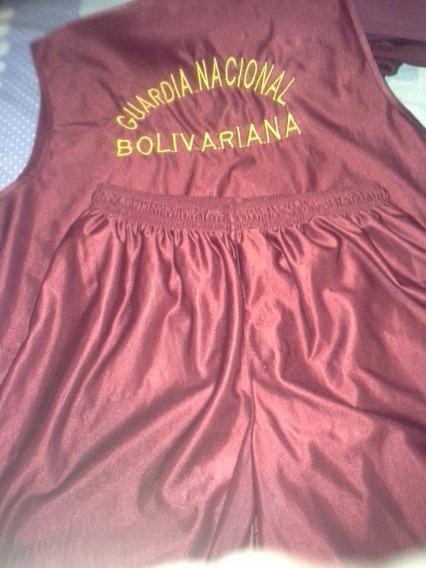 Uniforme Deportivo Gnb (franelilla Y Sport) Talla L