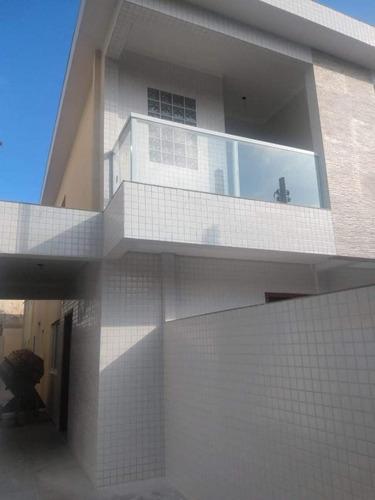 Imagem 1 de 9 de Casa 3 Dormitórios Para Venda Em Santos, José Menino, 3 Dormitórios, 1 Suíte, 2 Banheiros, 1 Vaga - 528_1-1961677
