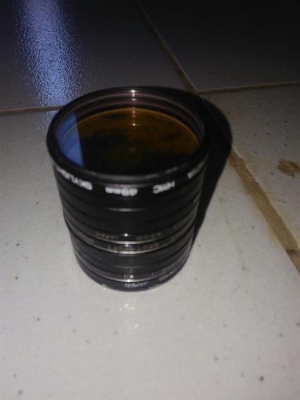 Lente De Câmara Usada Metal Lens Cao Japan Hoya 49m/m