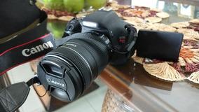 Camera Canon T3i + Bolsa + Cartão 32gb