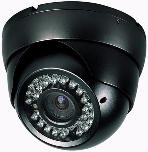 1200 Linhas Definição Camera Segurança Dome C/ Ir Cut On Top