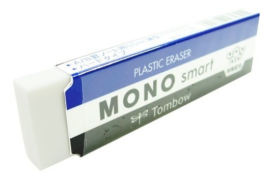 3 Undd Borracha Mono Tombow Plástica Smart Super Fina