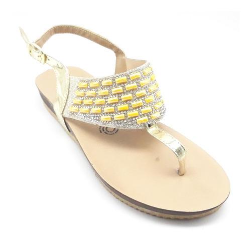 Imagen 1 de 7 de Sandalias Dama Huarache Calzado Zapato Casual Chancla Ca2246