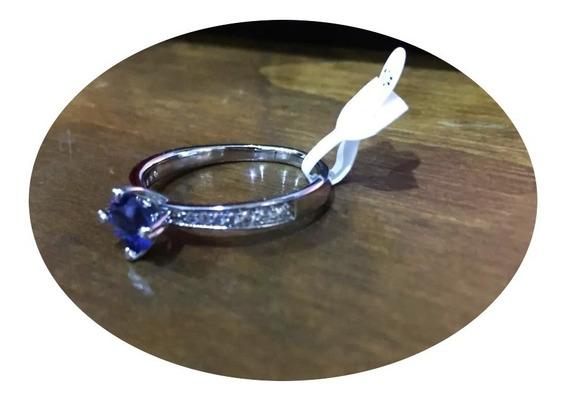 Anillos Compromiso 18k Elegante Diamante Boda Regalo Promesa