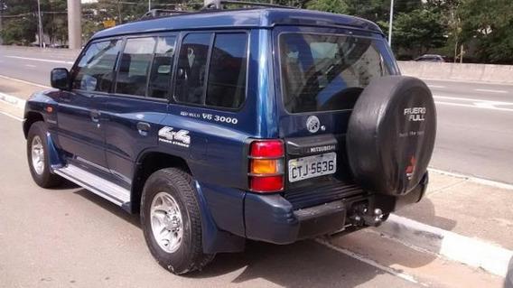 Mitsubishi Pajero Full Gls-b 3000 V6 4x4 Ano 2000 10 Lugares