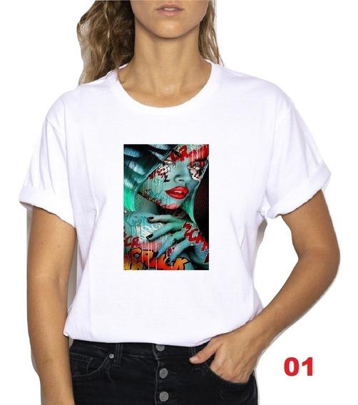 Remeras Dama Estampadas Muchos Diseños!!!! Pack X 2