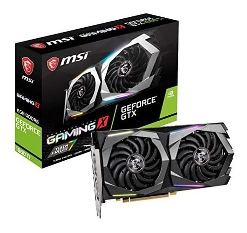 Tarjeta De Video Msi Geforce Gtx 1660 Gaming X 6gb
