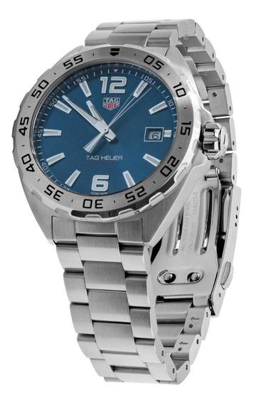 Relógio Tag Heuer Waz1118.ba0875 Formula 1 Azul 41mm