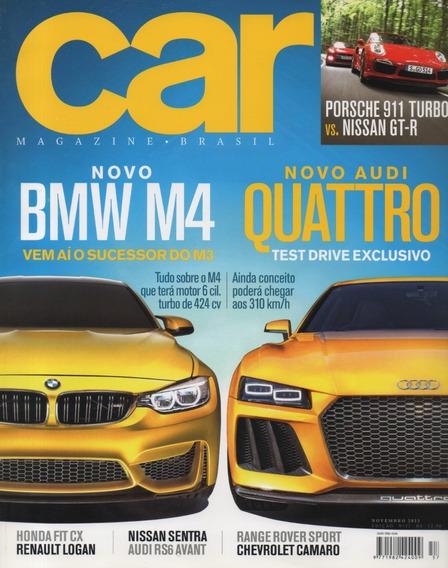 Car N°57 Bmw M4 Audi Quattro Rs6 Avant Nissan Gt-r 911 Turbo