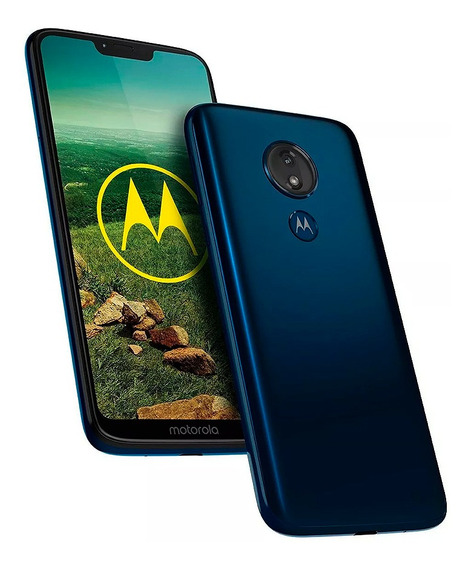 Celular Motorola G7 Power 32 Gb 4g Azul
