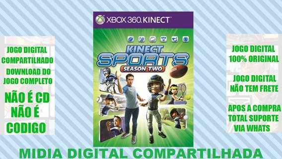 Kinect Sports 2 Midia Digita Xbox 360 Mg Games