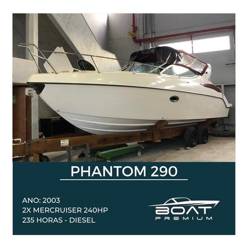 Phantom 290, 2003, 2x Mercruiser 240hp -cimitarra - Phantom
