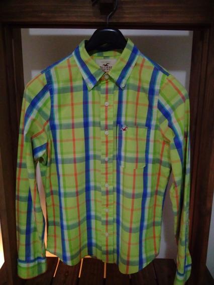 Camisa Hollister Xadres Tam. P Importada/londres
