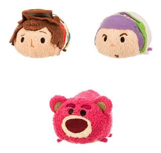 Tsum Tsum Woody Buzz Lightyear Lotso Toy Story