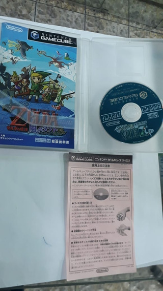The Zelda Takt Of Wind Japonês 100% Original Game Cube