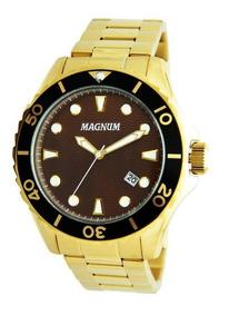 Relógio Magnum Masculino Dourado - Ma35011r