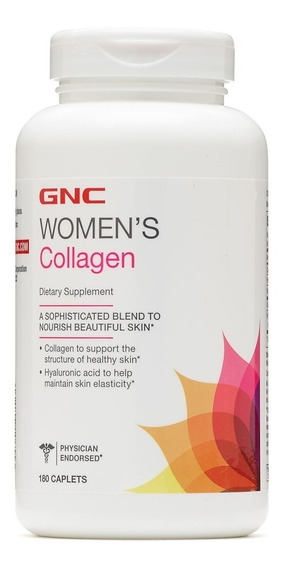 Colágeno Collagen Gnc - 180 Cápsulas