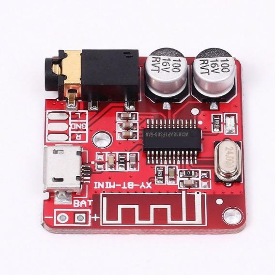 Mini Placa Receptor De Audio Bluetooth 4.1 - Envio Em 24h!