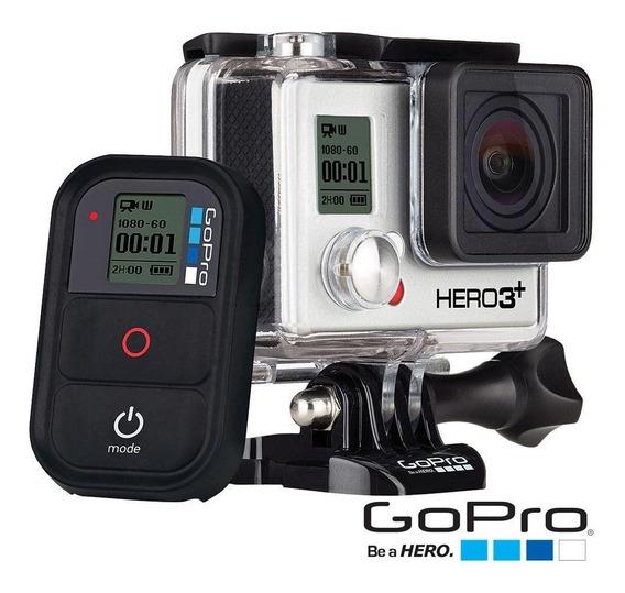 Câmera Gopro Hero 3+ Black Com Acessórios