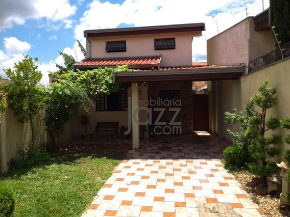 Casa Com 3 Dormitórios À Venda, 137 M² Por R$ 430.000,00 - Parque Nova Carioba - Americana/sp - Ca7308