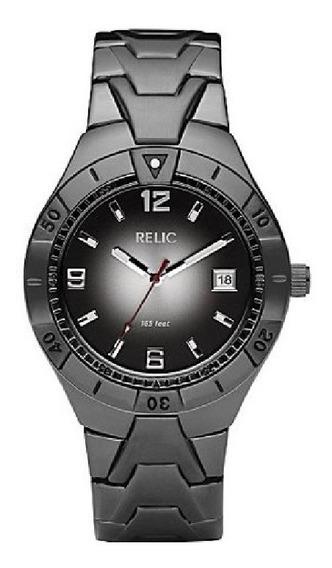 Relic Reloj Color Negro Redondo 100% Original Sale