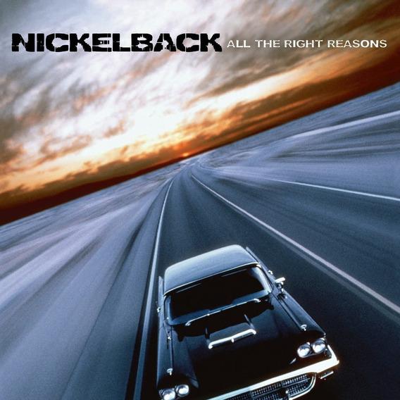 Nickelback All The Right Reasons Usa Import Lp Vinilo Nuevo