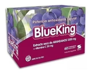 Blueking Antioxidante 60 Comprimidos Masticables