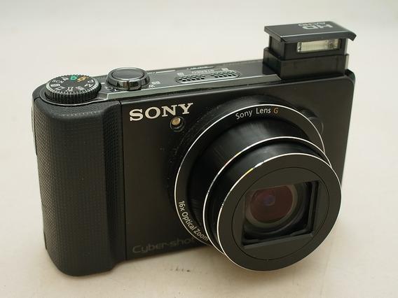 Sony Hx9v Camera Digital 16mp Gps Panorama 41mp & Brinde